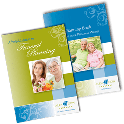 Funeral pre-planning booklet