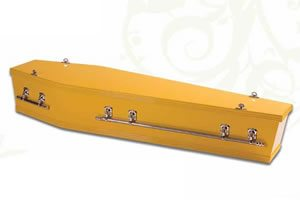 Gold Rush Coffin