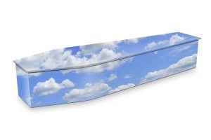 Cloudy Sky Coffin