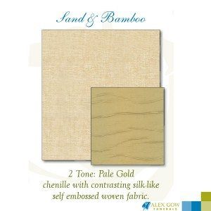 Fabric Sand and Bamboo