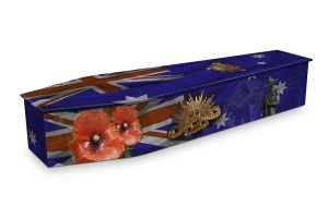Returned Services Coffin