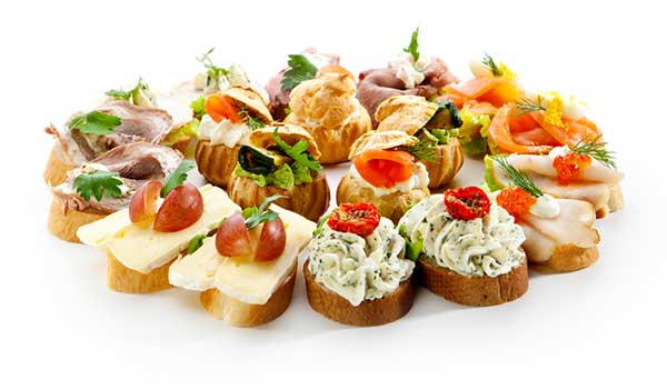 Canapes/ food to serve at a wake