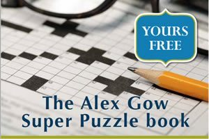 Alex Gow Super Puzzle Book.