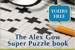 Alex Gow Super Puzzle Book.