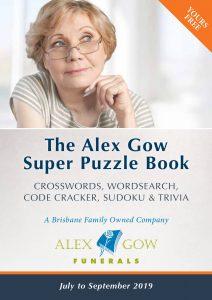 Alex Gow Funerals Puzzle Book Eleven