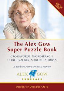 Alex Gow Funerals Puzzle Book Seven