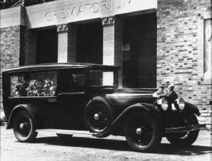 First Cremation Service 1934