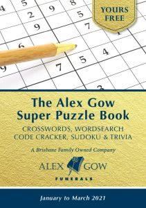 Alex Gow Funerals Puzzle Book Seventeen