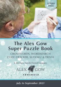 Alex Gow Funerals Puzzle Book Nineteen